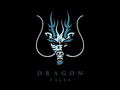 Dragon Tales blue book story tales tale teeth horns mizuchi asian japanese water dragon water dragon