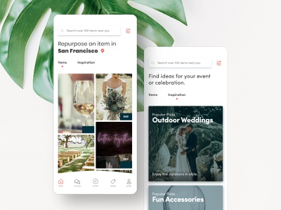Sellebrate – Mobile App for iOS & Android (1/2) android ios uidesign mobile ui uiux ux ui mobile design mobile app design mobile app marketplace app design app