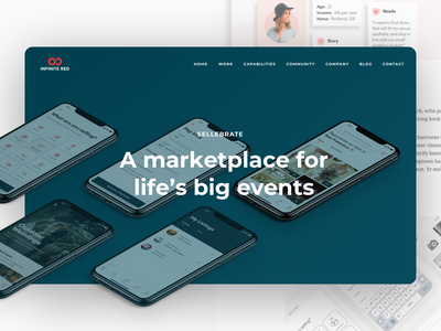 Sellebrate, a new case study from Infinite Red startup web case study casestudy web design mobile app ios android agency design app design app ux ui