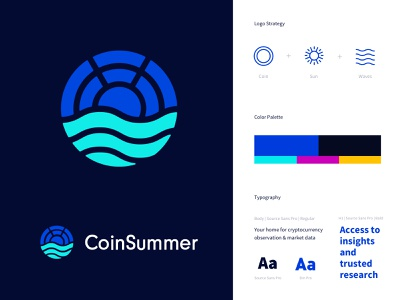 Cryptocurrency Logo and Branding coin logo branding concept tech logo logo design logo brand design branding and identity cryptocurrencies crypto cryptocurrency