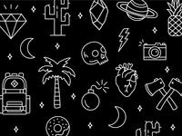 Dribbble Icons