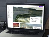 my.meural website design