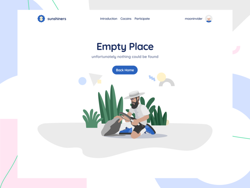 Self Space Illustrations website moonmen 404 page not found empty state svg figma sketch ai illustrations vector character