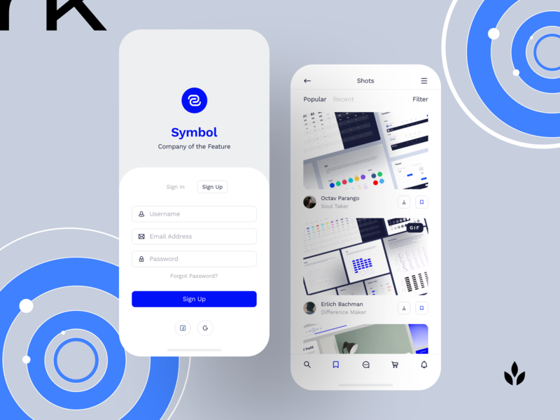Symbol Design System 2 modern adaptive sketch interface light components ux ui symbol minimal design system design craftwork