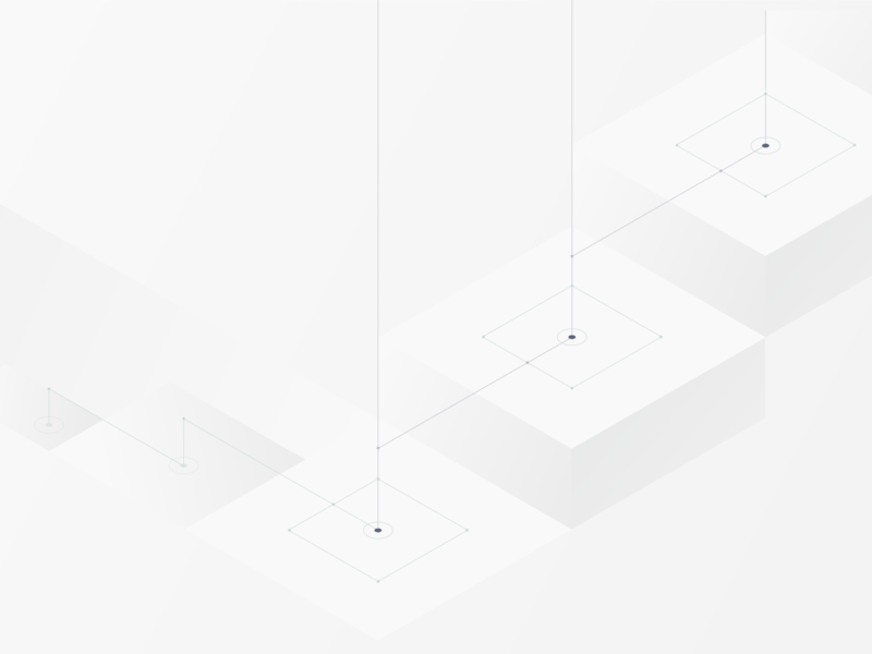 Iso Nodes 04 diagram isometric vector flat illustration