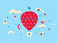 Evlogia - Biscuit scented strawberry jam