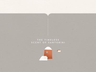 The Timeless Scent of Santorini packaging greece santorini