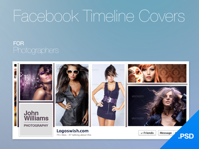 Facebook Timeline Covers Free PSD by joinfox - Dribbble