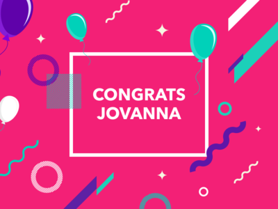 Congrats & Welcome to Dribbble