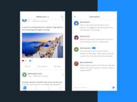 Social Media - UI Challenge
