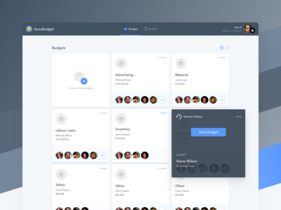 Budgeting Web App