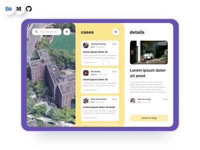 Dashboard website web freebie freelance animation design app ux ui interaction opensource case study product quarantine covid corona toggle filter sort dashboard