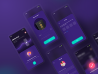 Add people  | coronacure dark freelance consulting health covid corona product app mobile ux ui successful identity otp details verfication people add delivery home