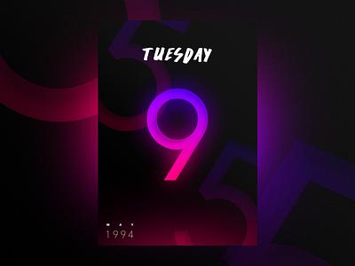 Birthday is coming! ∆ studio–jq ∆ nift jonathan quintin freelance designdrug color poster gradients neon