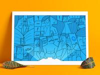 Illustration for Toppr welcome kit.