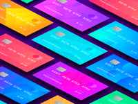 Credit Card Design for Daily UI #002