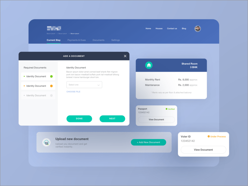 Modals By Atul Khola On Dribbble