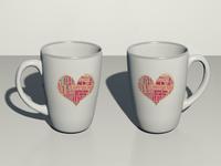 3D Coffee Mug Design - Behance Project