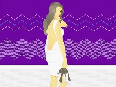 Danielle Panabaker - Illustration