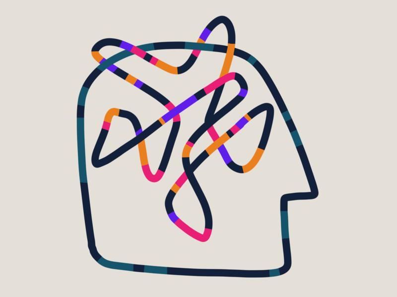 Mental 01 head drawing illustration mental health