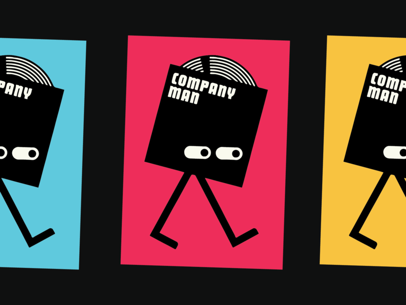 Company Man logo music recording records company man