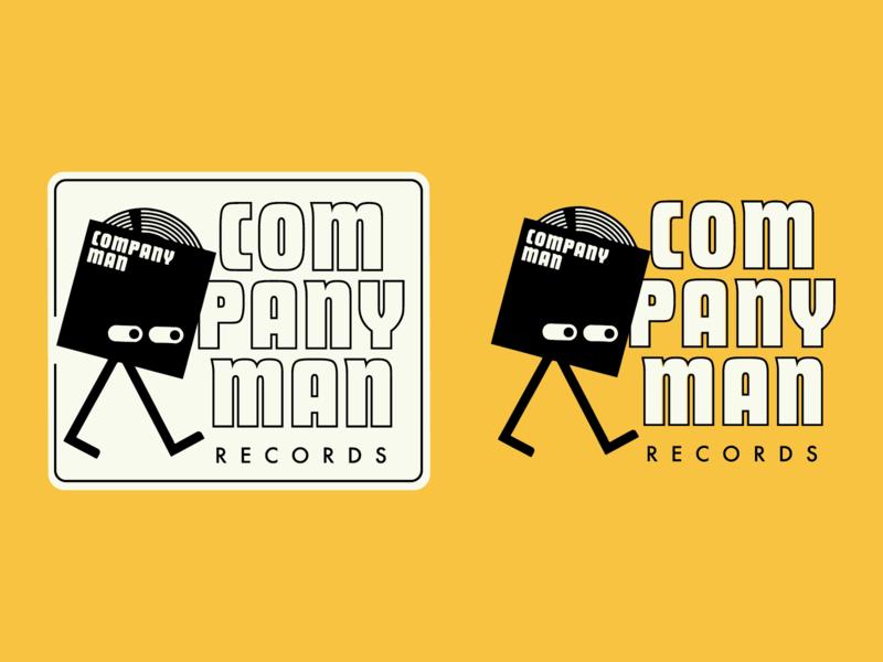 Company Man 2 branding records company man typography logo