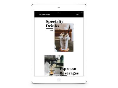 Daily UI 003 - Food/Drink Menu