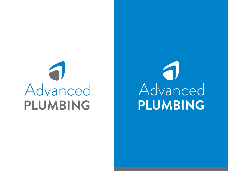 Advanced Plumbing Logo identity branding graphicdesign logos logo design plumbing logo