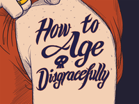 How to Age Disgracefully, Step 3: Illustrator + color