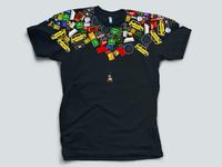 The Incident shirt, original concept 1