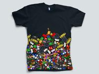 The Incident shirt, original concept 2