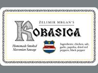 Kobasica label