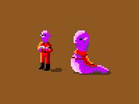 Aliens in pixel art