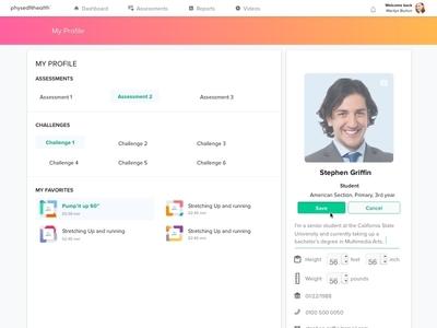 Uc 17.1 Student Profile Edit Mode