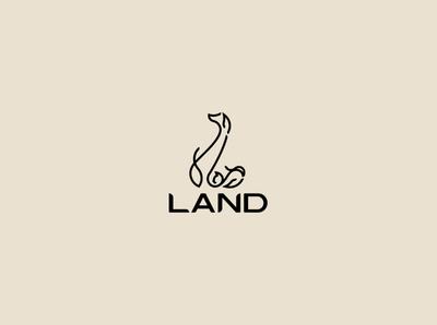 land design logo illustration