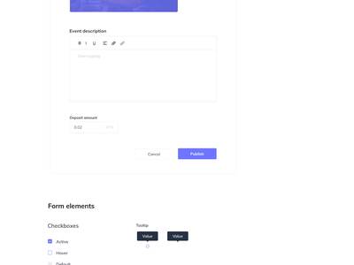Kickback Design System icon app design app application colors branding dapp blockchain cryptocurrency cryptocurrency typography pattern visual language ethereum blockchain design system color palette ui crypto design ethworks