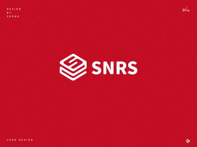 SNRS logo design