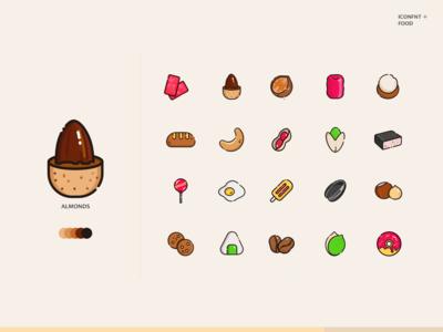 nut Icons