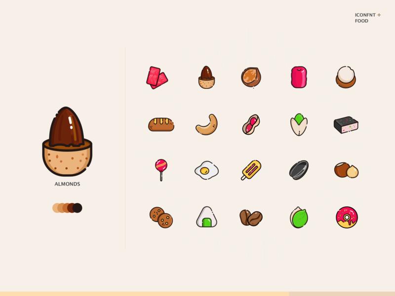 nut Icons ui illustration icon icons design
