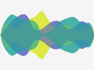 Waveform sound wave sound music teal graph waveform wave