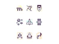 Exploration Icon Set