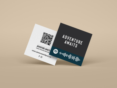Adventure Awaits - Business Cards