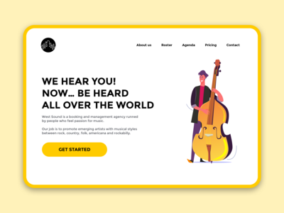 West Sound Landing Page