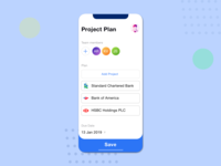 Task/work organising application