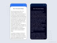 Day mode and Night mode PDF viewer