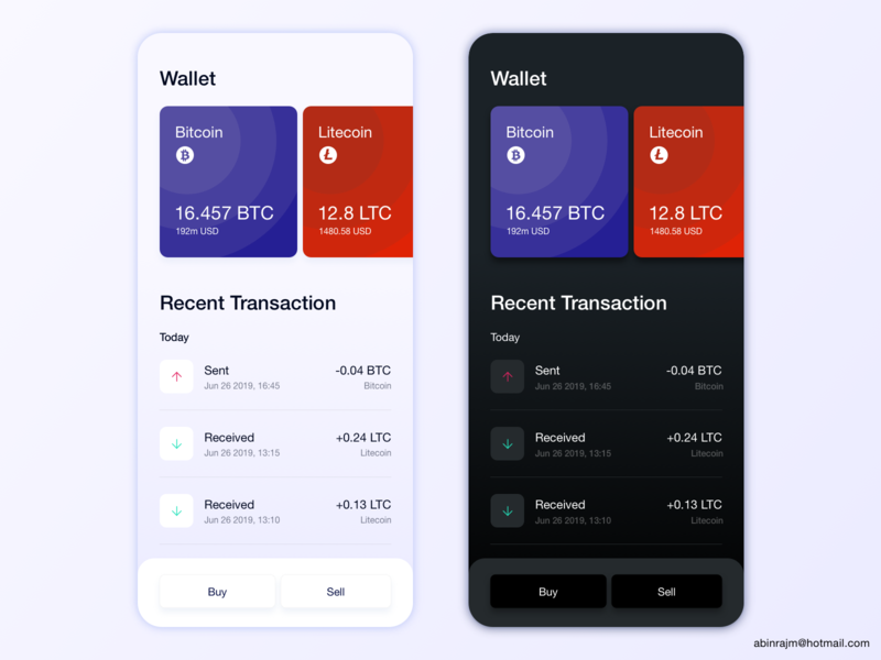 Cryptocurrency Wallet   Dashboard wallet cryptocurrency dashboard accessible ux