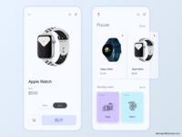 Watch Shop Mobile App