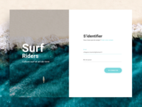 Surf Riders - Login