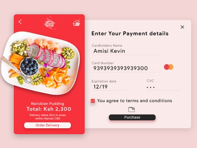 Lunch Delivery Checkout icons hotel menu dailyui freebie ui ux material design icon illustration minimalist marketing inspiration dashbord branding ios android checkout