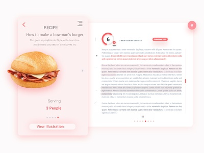 Recipe illustration ios android branding inspiration dashbord marketing minimalist icon illustration material design ui ux dailyui freebie recipe icons